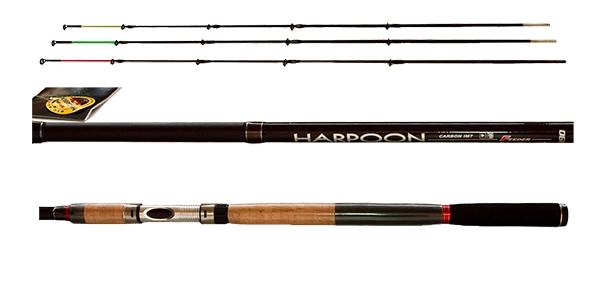 Картинки по запросу Удилище фидерное SWD-CARBON HARPOON (3+3) 3,9 м 180 гр